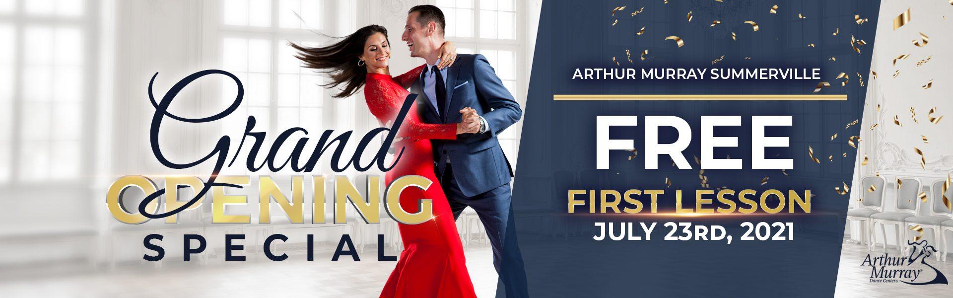 Arthur Murray Summerville Grand Opening